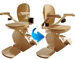 Stairlift from both sides